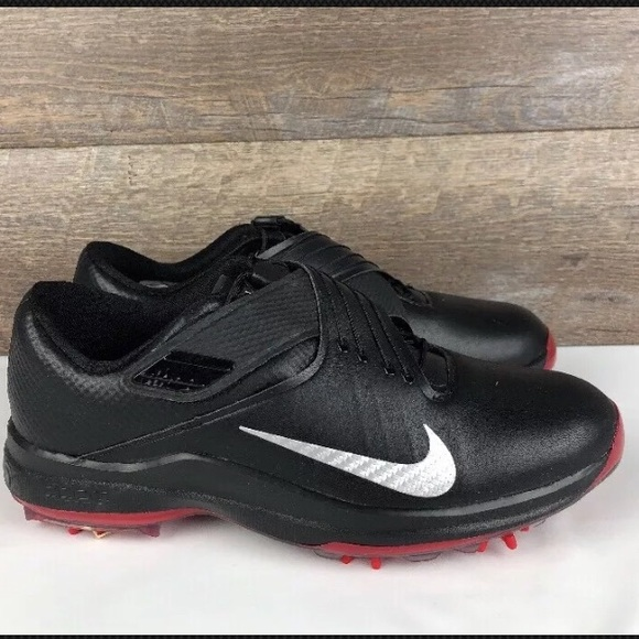 53212a973b3e Nike TW 17 Tiger Woods Golf Cleat Shoes Black